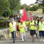 Finaliza la Marcha de FSP-UGTCyL contra los recortes sanitarios en Castilla y León