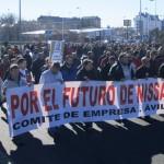 El 100% de los trabajadores de Nissan en Ávila secundan la jornada de huelga