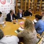 UGTCyL y C's coinciden en abordar para la próxima legislatura el desempleo, las políticas sociales y la despoblación