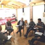 UGTCyL y PODEMOS coinciden en abordar la recuperación de los derechos perdidos y de las personas para la próxima legislatura