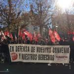 60% de seguimiento en la jornada de huelga en Contac Center
